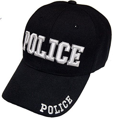CheapRushUniform Police Officer Cap Embroidered Baseball Cap