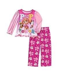 Paw Patrol Skye Toddler Girls 2 Piece Long Sleeve Top & Fleece Pants Pajama