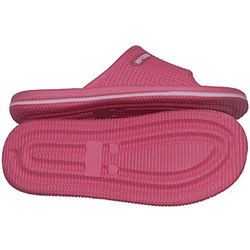 Badelatschen 40 Badepantoletten Paar Pink Damen 40 Pi Freizeitlatschen Größe 1 BqaECFxqw