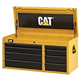 Cat 8-Drawer Ball-Bearing Tool Chest, 41'' W - Designed, Engineered and Assembled in the USA