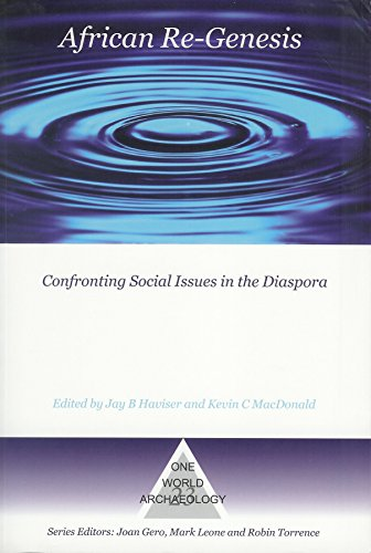 Book cover from African Re-Genesis: Confronting Social Issues in the Diaspora (One World Archaeology) by Kevin MacDonald Ph.D.