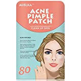 Acne Pimple Master Patch, Acne Spot Treatment, Hydrocolloid Acne Absorbing Spot Dot 80 Patches