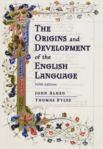 The Origins and Development of the English Language by Cengage Learning