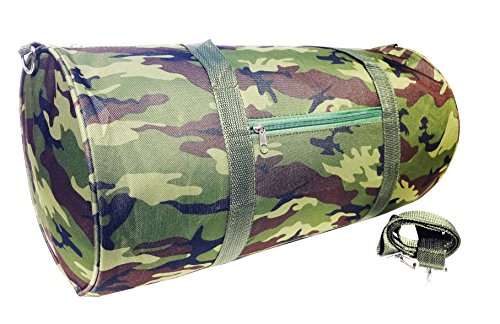 Fisherman Bag (Unique Camouflage Large Soft Microfiber Weekender Barrel Duffle Last Minute Clearance Valentines Day Deal Gym Sports Bag Supplies College Stuff Dorm Accessories Kid Girl Gift Hunter Fisherman Kid Boy)