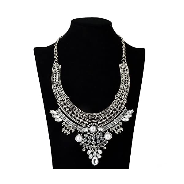 truecharms Fashion Jewelry Set Statement Necklace And Earrings For Women 3