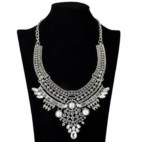 truecharms Fashion Jewelry Set Statement Necklace And Earrings For Women