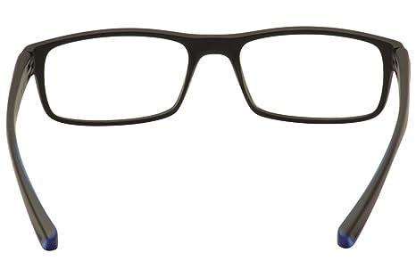 Amazon.com: Eyeglasses NIKE 7090 018 MATTE BLACK/CRYSTAL PHOTO BLUE: Sports  & Outdoors