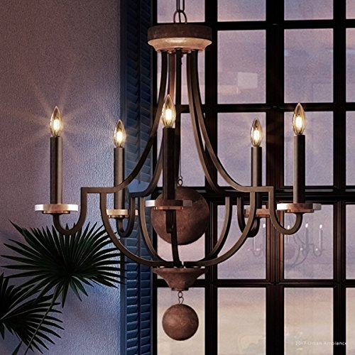 Luxury Transitional Chandelier, Medium Size: 30