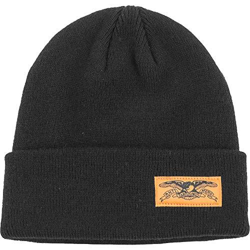 38dca0ff0cc Anti Hero Skateboards Stock Eagle Label Black Cuff Beanie