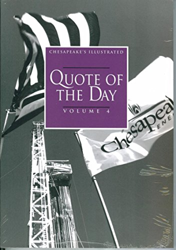 Chesapeakes Illustrated Quote Of The Day  Volume 4