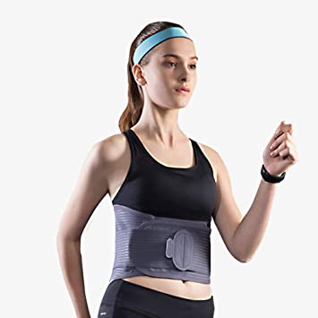 Nfudishpu Cinturón de soporte de cintura para la espalda, cinturón ...