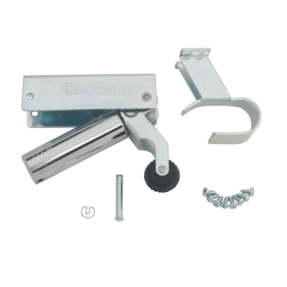 Kason 1092 Hydraulic Door Closer, 7/8 to 1 5/8 Inch Offset Hook, 11092000008
