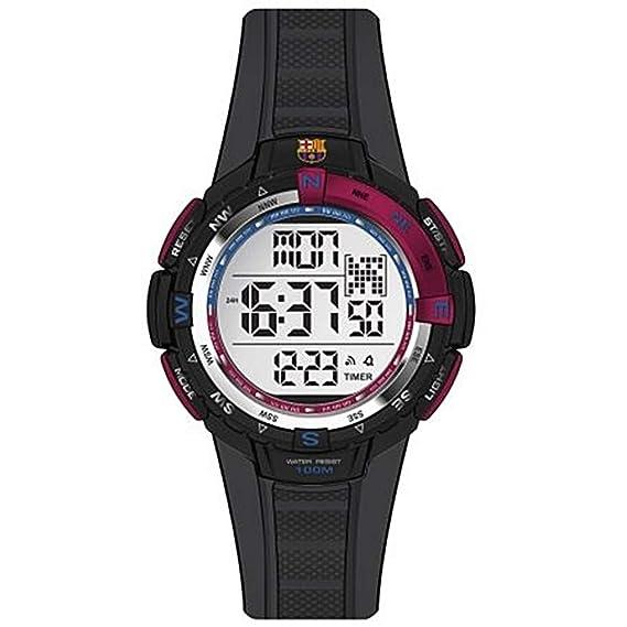 Reloj RADIANT F.C.Barcelona BA08601 Hombre Silicona negro Cronógrafo: Amazon.es: Relojes