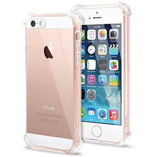 Capa de Celular Anti Impacto Transparente Apple Iphone 5 5S SE
