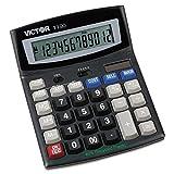 Victor 1190 1190 Executive Desktop Calculator, 12-Digit LCD
