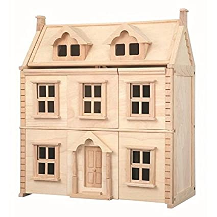 Plan Toys 7124 Victorian Dolls House Amazon Co Uk Toys Games