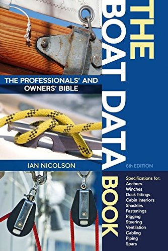 The Boat Data Book: The Professionals' and Owners' Bible pdf
