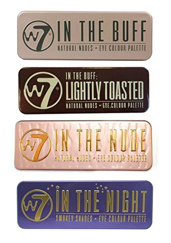 W7's Ultimate Eyeshadow Collection with Natural Nudes and Sm
