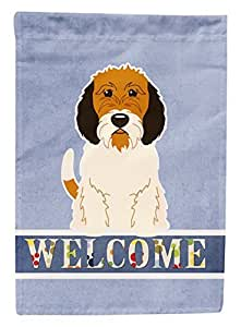 Garden Flag Petit Basset Griffon Veenden Welcome Decorative Christmas Flags for House Double Sides Outdoor Welcome Flag