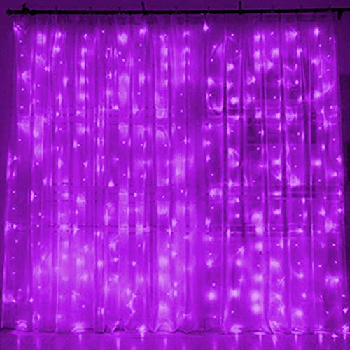 Twinkle Star 300 LED Window Curtain String Light for Christmas Wedding Party Home Garden Bedroom Outdoor Indoor Wall Decoration - Party Halloween String Lights