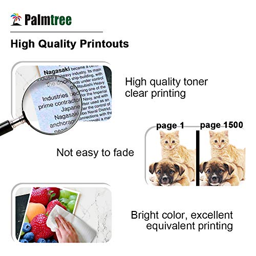 Palmtree Compatible Ink Cartridge Replacement for HP 950 951 950XL 951XL  Work with HP OfficeJet pro 8600 8100 8610 251DW 276DW(Black, Cyan, Magenta,