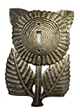 Metal Switch Plate Cover, Sunflower, Haiti, Handmade From Recycle Oil Drum (Switch)