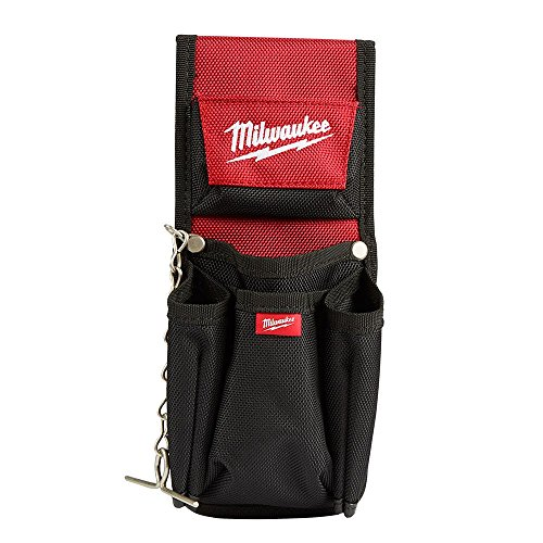 Milwaukee Tools 7-Pocket Compact Utility Pouch1680D Ballistic Material Construction with Riveted Seams for 5x Longer Life, features a Quick Attach Belt Loop and Tape Chain by .Milwaukee.