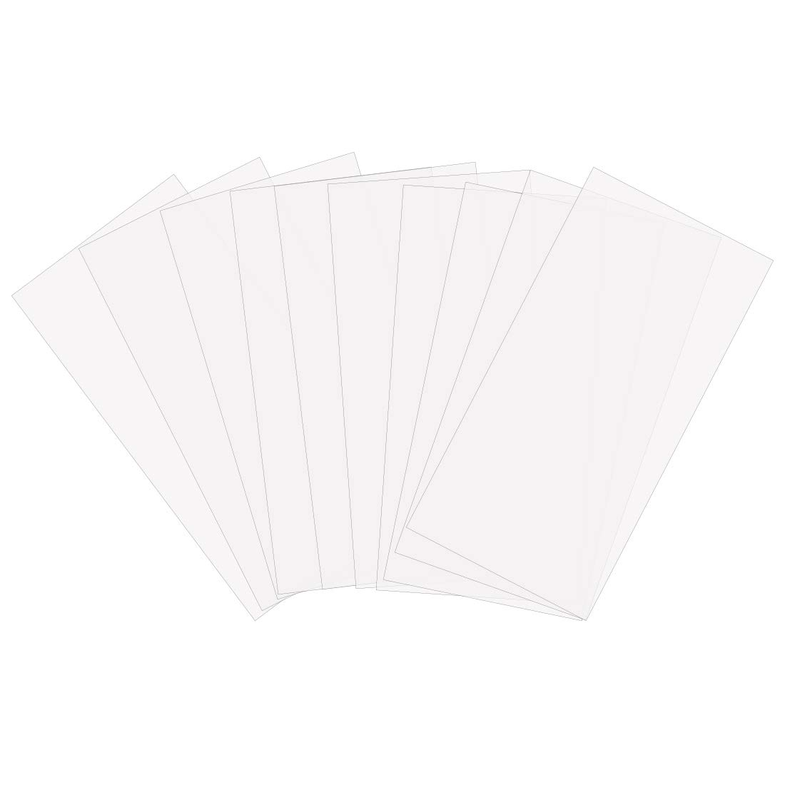 JINSEY Make Your Own Stencil - 10 Pack 6 Mil 12 x 24 inch Blank Stencil Sheets - Ideal Use Compatible Cricut & Silhouette Machines (Mylar Material) Stenci-12-24
