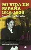 Mi Vida en Espana, 1916-1936, Carmen de Zulueta, 8415115156