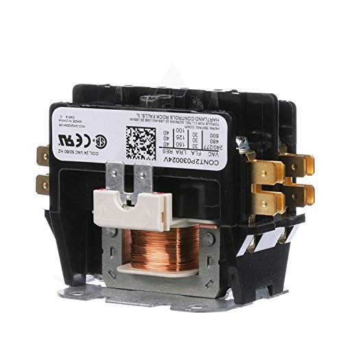 Replacement for Goodman Double Pole / 2 Pole 30 Amp Condenser Contactor CONT2P030024VS ()