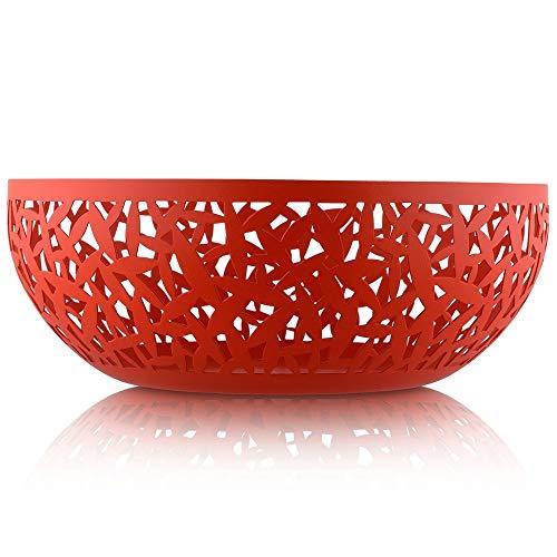 "Alessi MSA04/29 R""""Cactus!"" Fruit Bowl, Red (Renewed)"