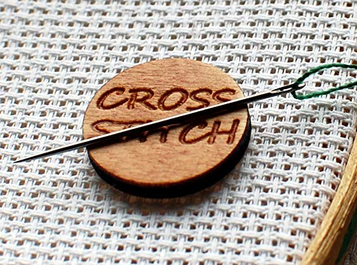 Needle minder cross stitch magnet pattern holder embroidery Xstitch