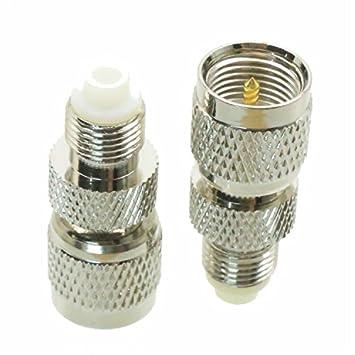 1 Mini UHF macho a FME hembra RF coaxial adaptador conector Inglés