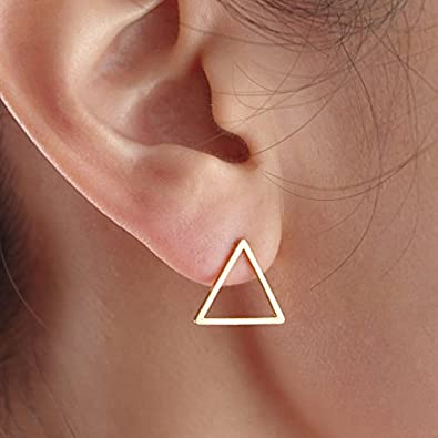 choice of all Simple Circle Stud Earrings Minimalist Geometry Earrings Set for Women