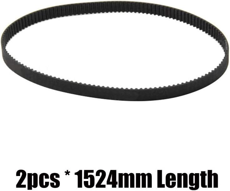 NO LOGO L-TAO-Pulley Gr/ö/ße : 752mm 1pc GT2-Synchronriemen geschlossen 6mm Gt2 Zahnriemen Schleife 3D Druckerteile 852mm 752mm 1220mm 1524mm Rubber Belt