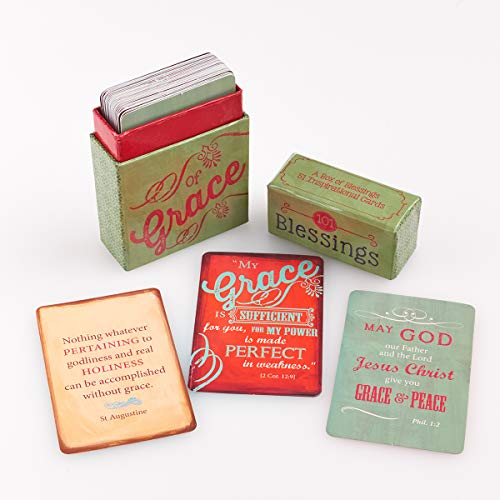"""Retro Blessings """"101 Blessings of Grace"""" Cards – A Box of Blessings"""