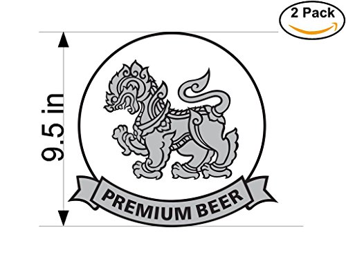 singha-2-beer-logo-alcohol-4-vinyl-stickers-decal-bumper-window-bar-wall-95-inches