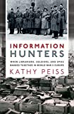 """Kathy Peiss, """"Information Hunters"""" (Oxford UP, 2019)"""