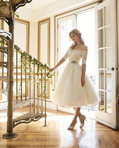 Encaje Blanco Fiesta Vestido Noche Sin Vestido De Elegantes Mujer Esbelto Tirantes De p7dTq