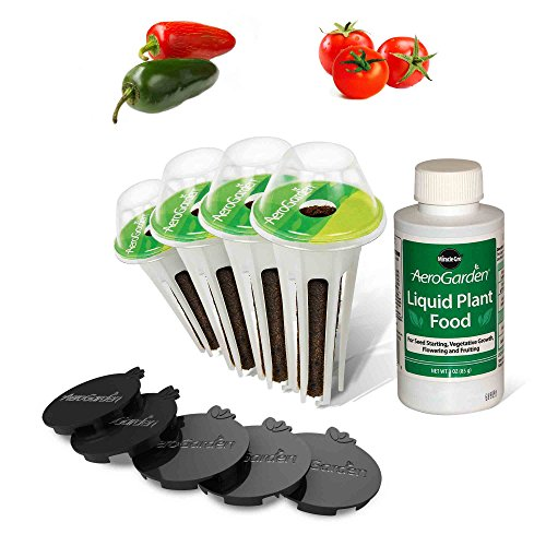 AeroGarden Salsa Garden Seed Pod Kit (4-Pod) by AeroGrow