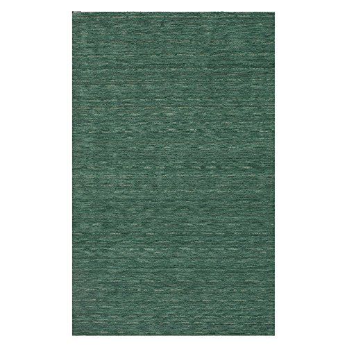 Dalyn Rugs RF100 Rafia Area Rug, 3-Feet 6-Inch by 5-Feet 6-Inch, Emerald