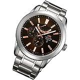 Orient Power Reserve Rosé Fecha Zafiro Reloj Automático Reloj de hombre Fez 08002t0