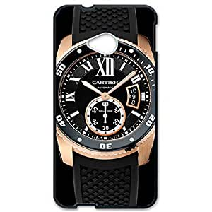 Cartier Phone Case Series Diver Rose Gold Watch Pattern Customized Thin Protective Plastic 3D Case Cover L6M082 For Htc One M7