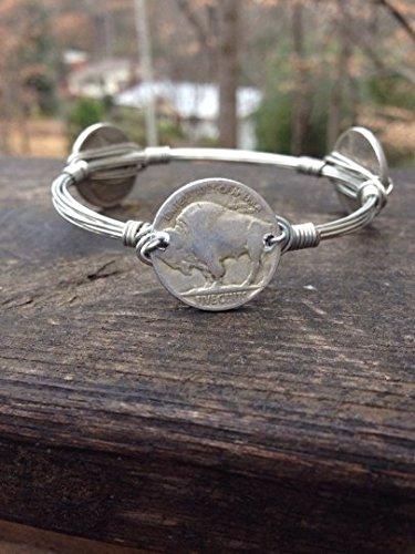 buffalo head nickel necklace - 4