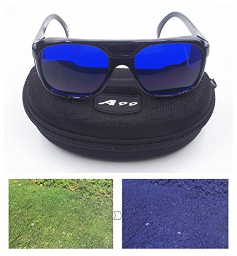 E1 A99 Golf Ball Finder Located Glasses Black Frame with - Frame E1