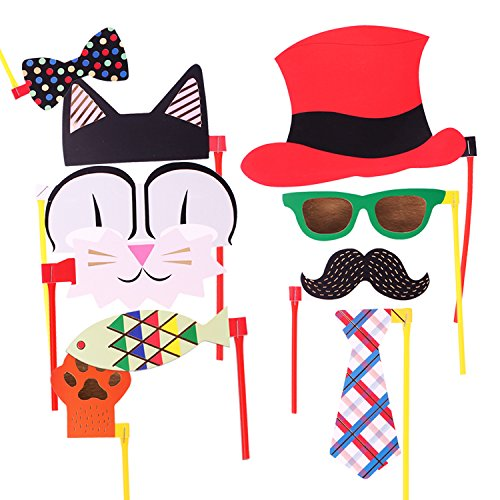 Attached Photo Booth Props Cooloo Party Favors For Wedding Birthday