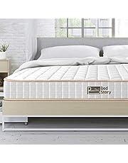 BedStory Twin Mattress, 6 Inch Spring Mattress Support Innerspring Foam Medium to Firm Single Mattress Luxurious Twin Size Bed Mattress (6 Inch, Twin, 38 * 74 Inch)