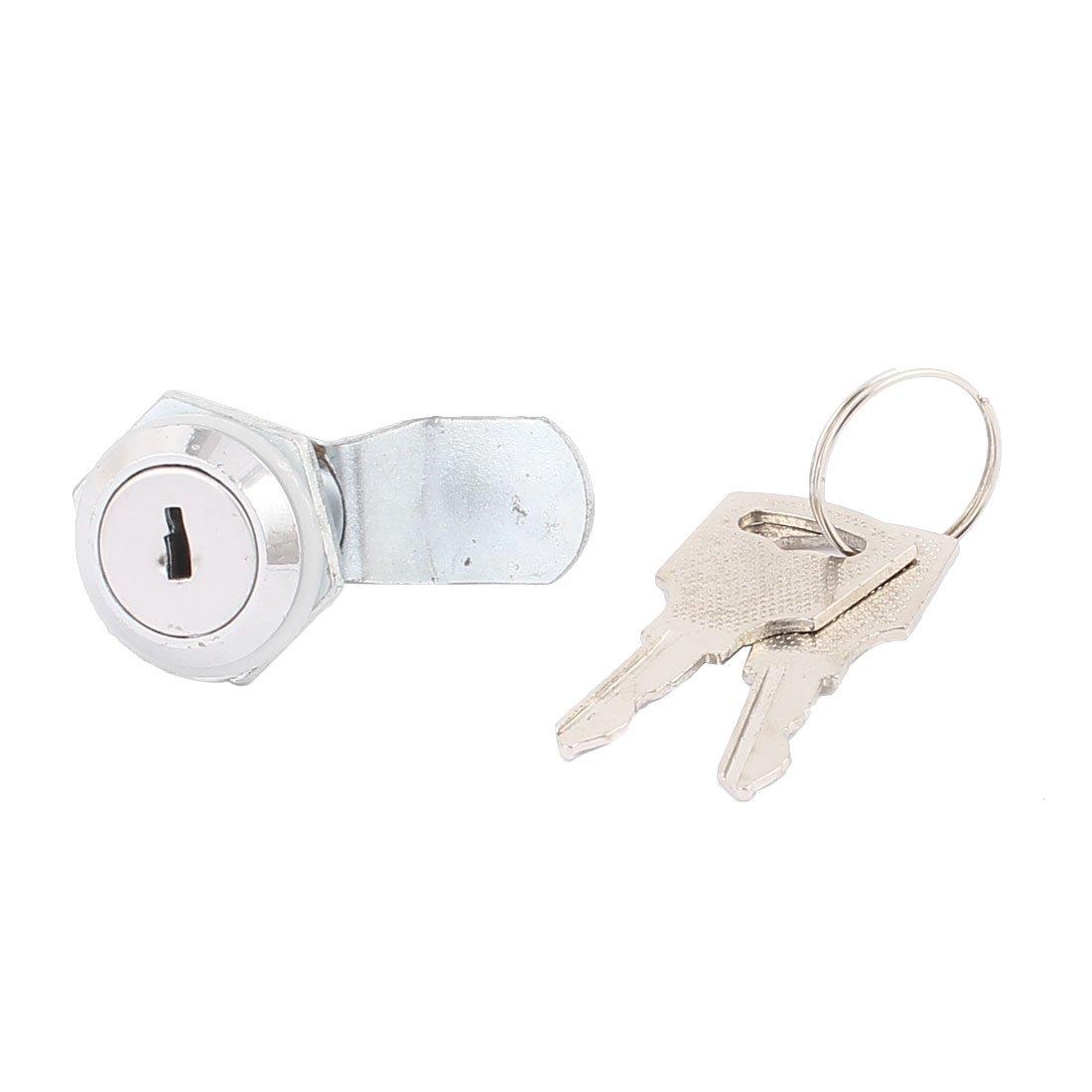 sourcingmap/® Cabinet Mail Box Drawer Security Metal Tubular Cam Lock Replacement
