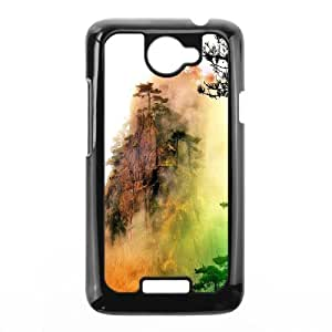 Custom Case The scenery of Mount Huangshan For HTC One X Q3V692162