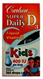 Carlson Super Daily D3 400 IU for Kids, Health Care Stuffs